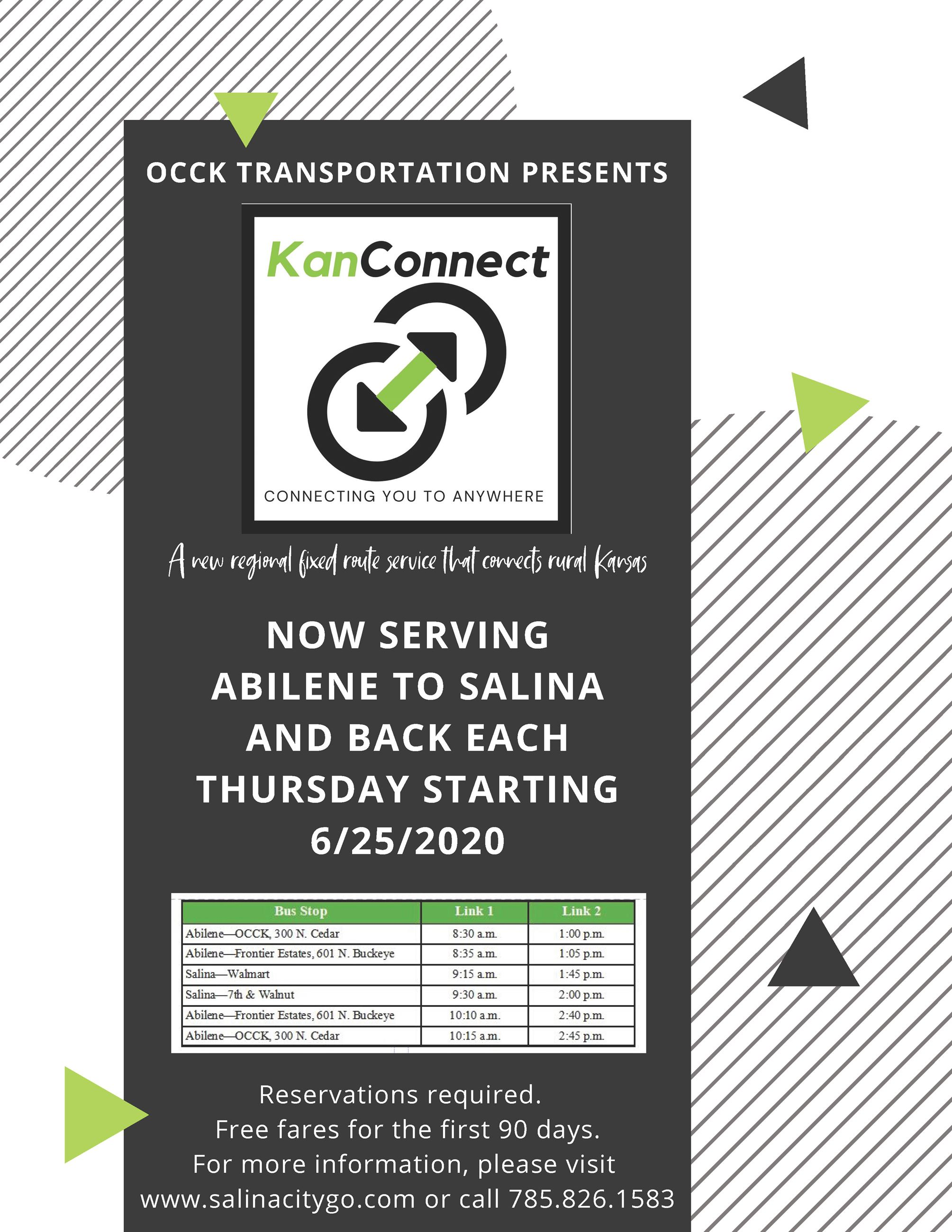 KanConnect Flyer Abilene